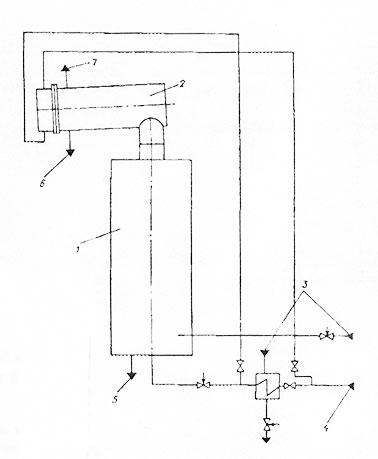 Схема компоновки вертикального